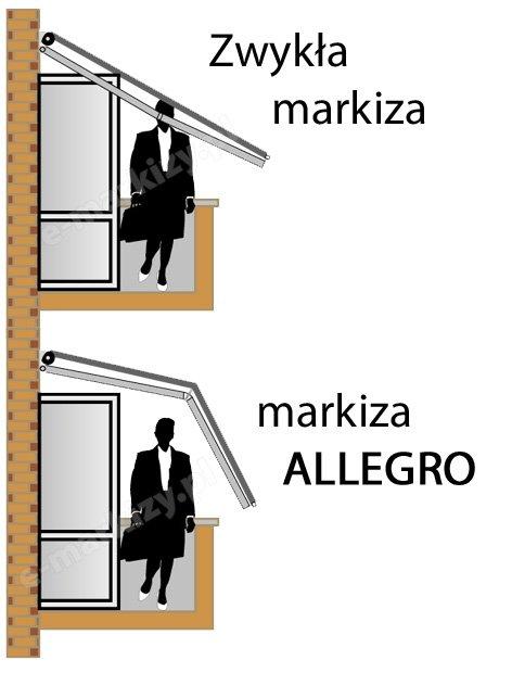 Markiza Allegro Mol Markiza Allegro Mol Markizy Sklepowe