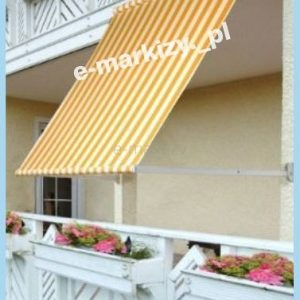 markiza balkonowo sklepowa