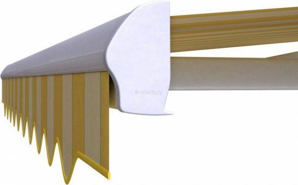 markiza dakar selt tarasowa na wymiar belka przednia