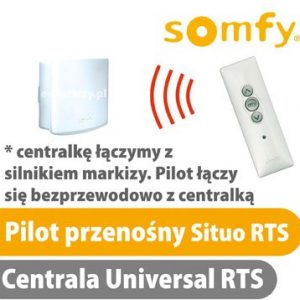 somfy situo pilot centrala rts 1810636