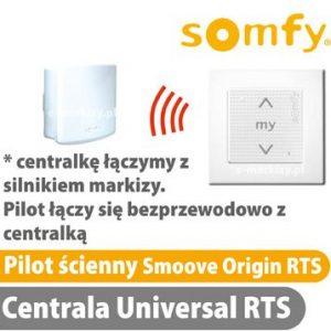somfy smoove origin pilot centrala rts