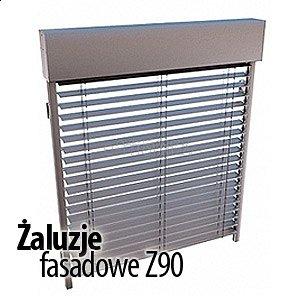 Żaluzje fasadowe Z90