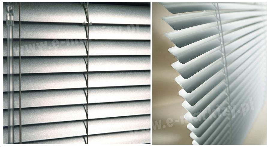 zaluzje aluminiowe poziome na wymiar