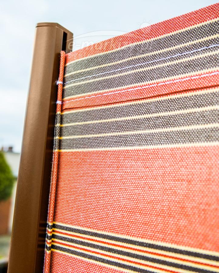 bora, przysłona tarasu, markiza boczna, przysłona tkaninowa