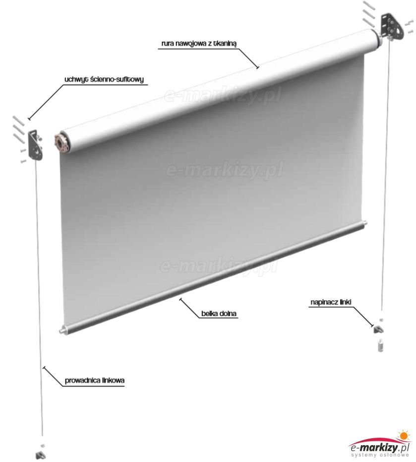 refleksol xl selt roleta tkaninowa refleksole screen roleta tekstylna