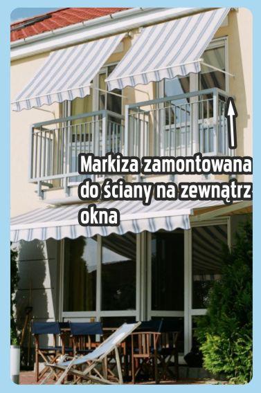 Markiza Balkonowa Poręczowa Montaż Markiza Balkonowa