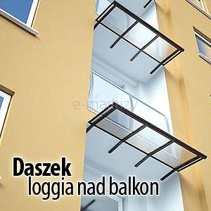 daszek balkonowy