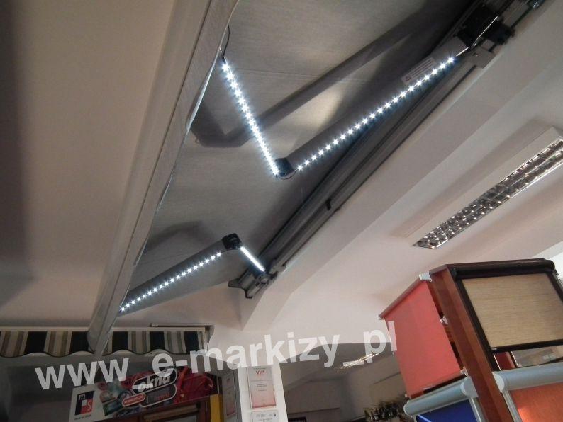 Oświetlenie markiz, oświetlenie LED, oświetlenie na pilota, zestaw oświetleniowy markizy