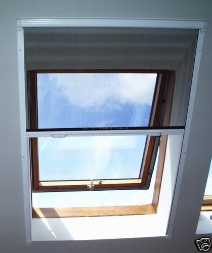 moskitiera do okien dachowych