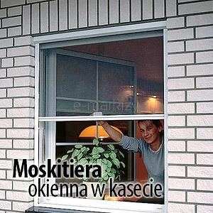 moskitiera okienna w kasecie