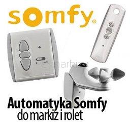 Automatyka, sterowanie do markiz i rolet SOMFY