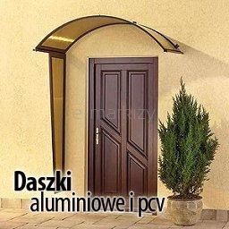 Daszki aluminiowe i pcv