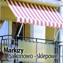 Markizy Balkonowo - Sklepowe