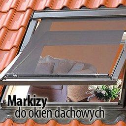markizy do okien dachowych