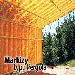 Markizy typu Pergola