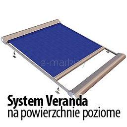 System Veranda - na powierzchnie poziome