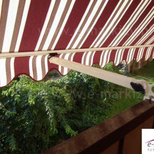 markiza balkonowa poręczowa italia selt