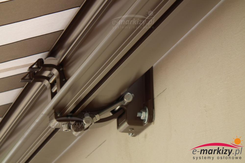 uchwyt ścienny markizy selt dakar mocowanie do ściany