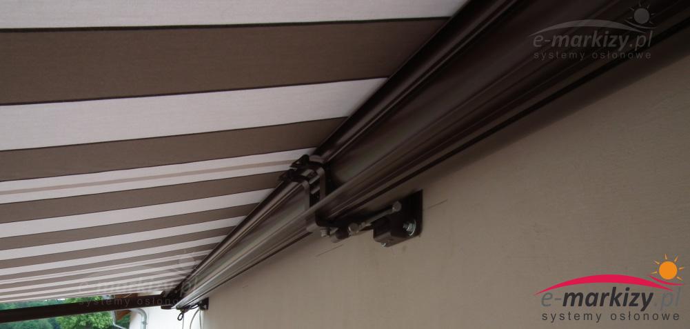 montaż markiza dakar selt mocowanie do ściany