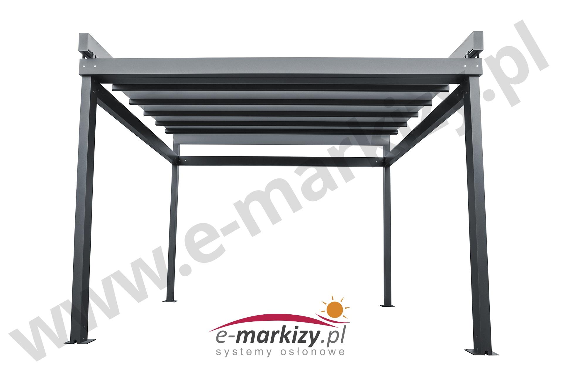 Pergola Solid wiata zadaszenie markiza system osłonowy