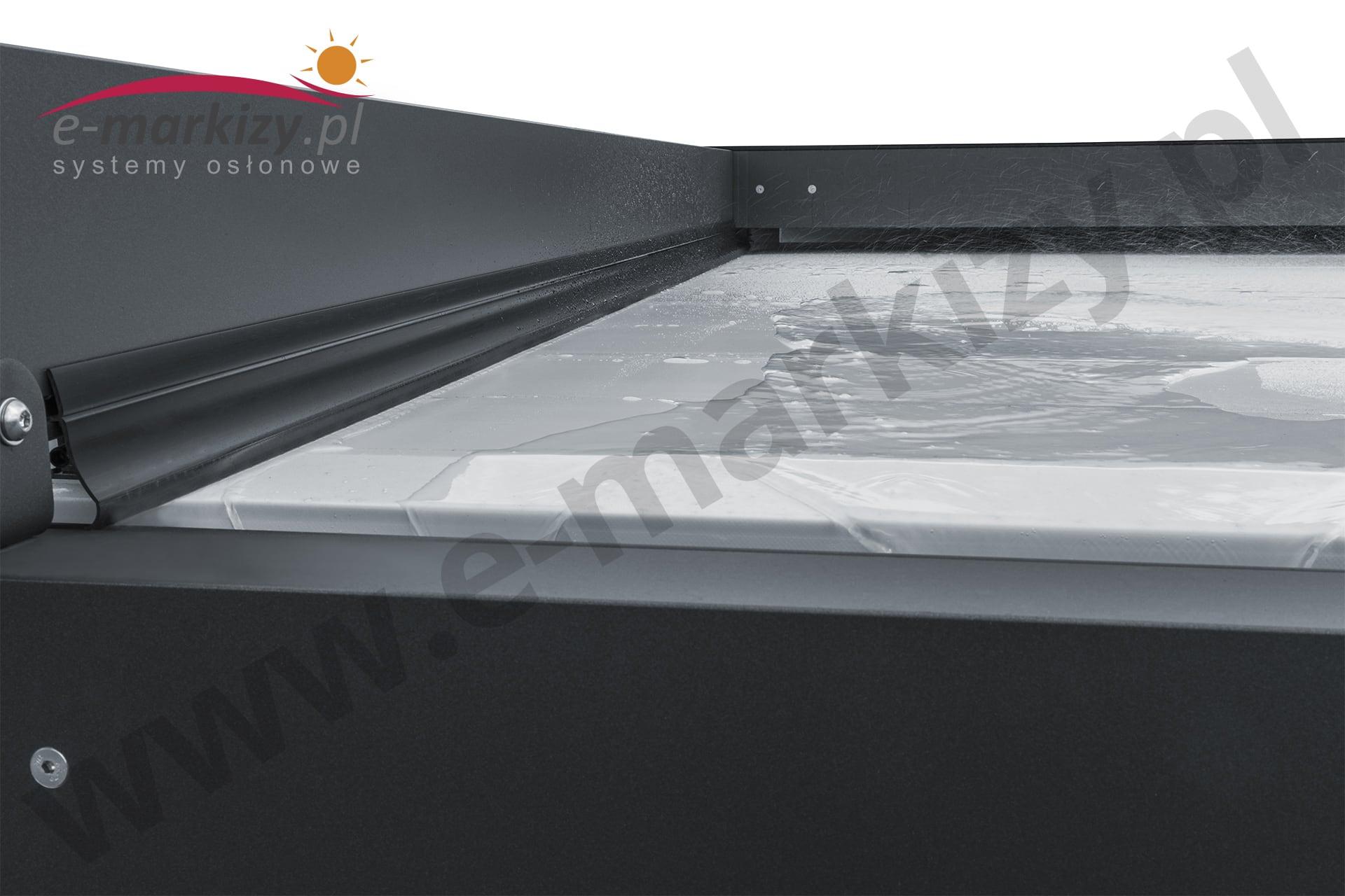 Pergola Solid przeciwdeszczowa przeciwsłoneczna