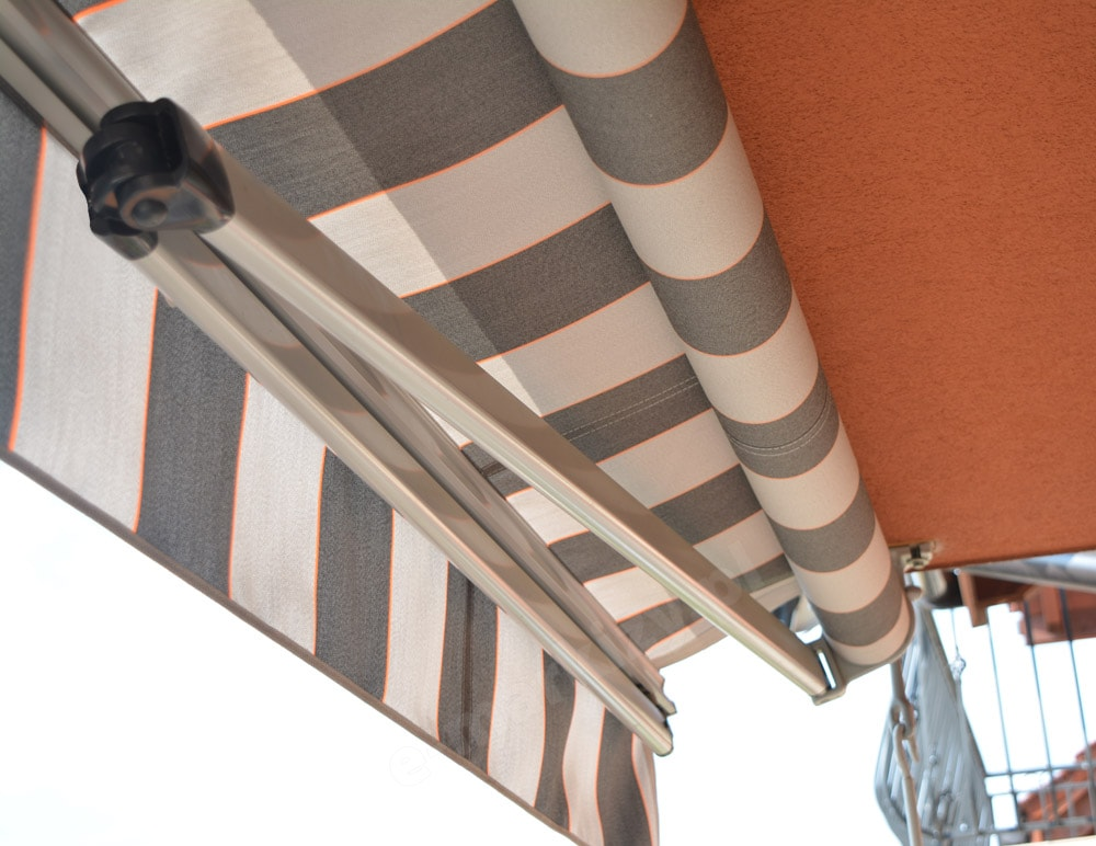 Markiza tarasowa bez kasety montaż do sufitu Malta Plano