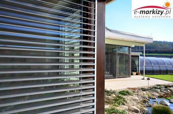 c80 okno narożne żaluzja fasadowa realizacje