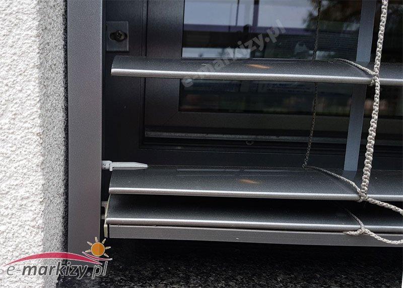 Żaluzje fasadowe c80 SELT realizacje galeria zdjęć prowadzenie lameli