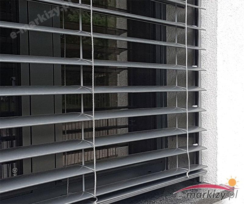 Żaluzje fasadowe c80 SELT realizacje galeria zdjęć lamele żaluzji