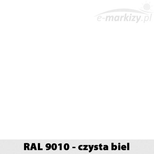 RAL9010 konfigurator żaluzje fasadowe kolory czysta biel