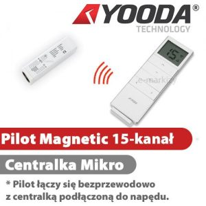 Yooda pilot magnetic 15-kanałowy centrala mikro 1701615