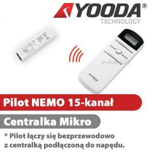 1701289 Yooda Pilot NEMO 15-kanałowy centralka Mikro