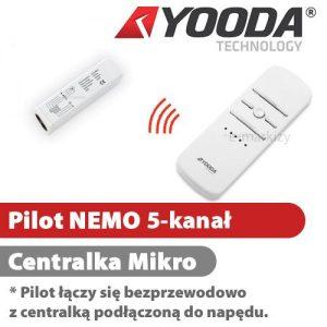 1701288 Yooda Pilot NEMO 5-kanałowy centralka Mikro