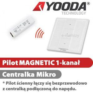 Yooda pilot ścienny magnetic 1 centrala mikro 1711600