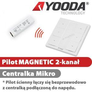 Yooda pilot ścienny magnetic 1 centrala mikro 1711615