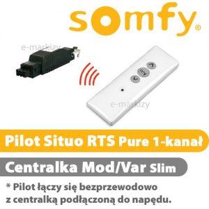 Somfy pilot situo 1 rts 1810636 centrala mod/var slim RTS 1810802