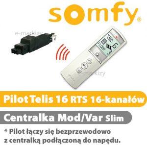 Somfy pilot telis 16 rts pure 1811079 centrala mod/var slim RTS 1810802