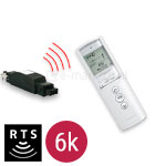 Pilot Telis 6 RTS Pure 6-kanałowy + Centrala Mod/Var Slim Receiver RTS