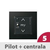 Pilot ścienny cz. Smoove 1 RTS + Centrala Uniw. RTS