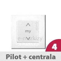 Pilot ścienny Smoove 1 RTS + Centrala Uniw. RTS