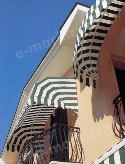 markiza koszowa prosta mol realizacje markizy nad balkon
