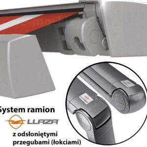 markiza tarasowa kasetowa moderno mol przeguby ramiona Llaza