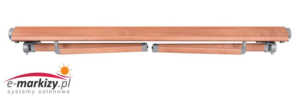 Adagio markiza tarasowa balkonowa mol ramiona markizy ułożenie ramion