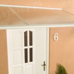 Daszek Drzwiowy Malaga biały na zamówienie