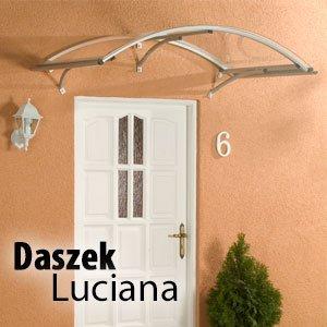 Daszek drzwiowy Luciana nowoczesne daszki