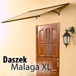 Daszek Malaga XL duży daszek nad drzwi