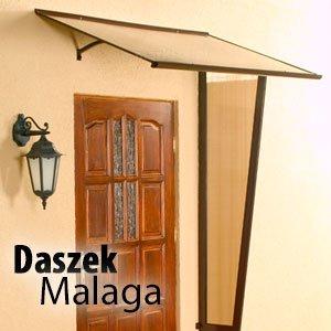 Daszek Malaga Płaski duży rozmiar