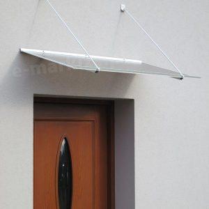 Daszek drzwiowy nad drzwi płaski klasyczny sewilla