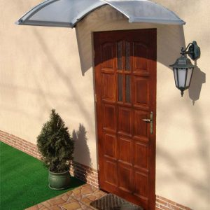 Daszek nad drzwi Toro klasyczny półokrągły pół okrągły