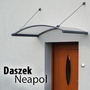 Nowoczesny daszek nad drzwi Neapol